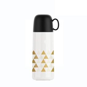 Термос белый Треугольники 350 мл (код товара: 49676): купить в Berni