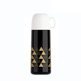 Термос черный Треугольники 350 мл (код товара: 49677): купить в Berni