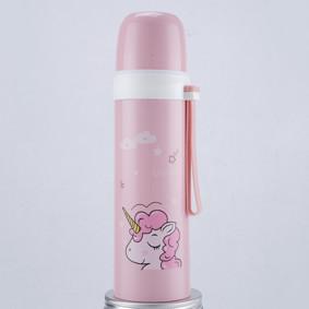 Термос розовый Единорог 350 мл (код товара: 49620): купить в Berni