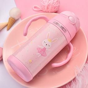 Термос розовый Кролик 400 мл (код товара: 49625): купить в Berni