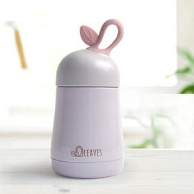 Термос розовый Листок 260 мл (код товара: 49689): купить в Berni