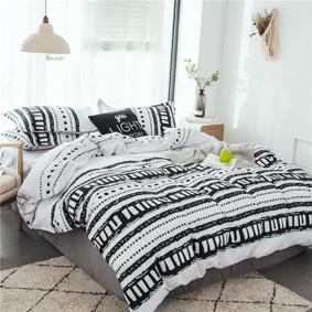 Уценка (дефекты)! Комплект постельного белья Узор (двуспальный-евро) (код товара: 49644): купить в Berni