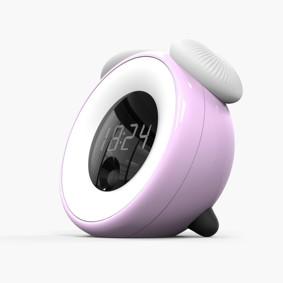 Детский ночник-часы Розовый оптом (код товара: 49752): купить в Berni