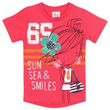Футболка для девочки Розовая девочка (код товара: 49768)