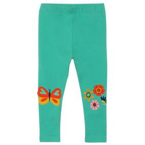 Леггинсы для девочки Цветы и бабочка (код товара: 49765): купить в Berni
