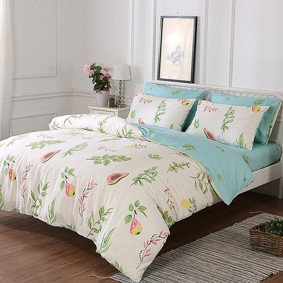 Уценка (дефекты)! Комплект постельного белья Груша (двуспальный-евро) (код товара: 49708): купить в Berni