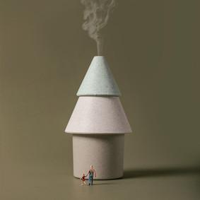 Увлажнитель воздуха Дерево (код товара: 49725): купить в Berni