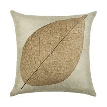 Наволочка декоративная Сухой лист 45 х 45 см (код товара: 49937)