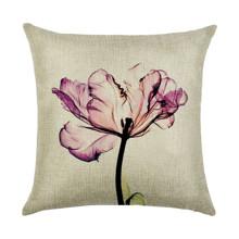 Наволочка декоративная Тюльпан 45 х 45 см (код товара: 49922)