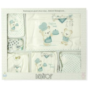 Комплект 10 в 1 для новорожденного Bebitof (код товара: 5037): купить в Berni