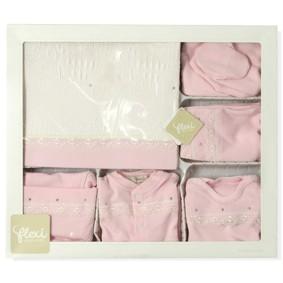 Комплект 10 в 1 для новорожденной девочки Flexi  (код товара: 5042): купить в Berni