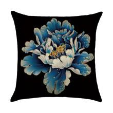 Наволочка декоративная Большой цветок 45 х 45 см (код товара: 50061)