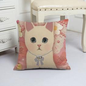 Наволочка декоративная Милый котенок 45 х 45 см (код товара: 50093): купить в Berni