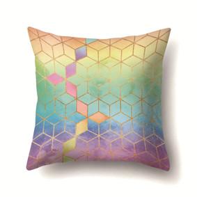 Наволочка декоративная Радужные кубы 45 х 45 см (код товара: 50082): купить в Berni