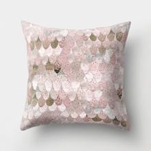 Наволочка декоративная Розовая чешуя 45 х 45 см (код товара: 50011)