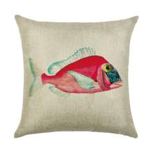 Наволочка декоративная Розовая рыбка 45 х 45 см (код товара: 50017)