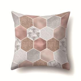Наволочка декоративная Шестиугольники 45 х 45 см (код товара: 50084): купить в Berni