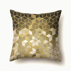 Наволочка декоративная Золотые кубики 45 х 45 см (код товара: 50086): купить в Berni