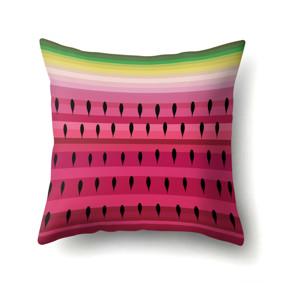 Наволочка декоративная Сочный арбуз 45 х 45 см (код товара: 50102): купить в Berni