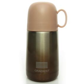 Термос коричневый Градиент 240 мл (код товара: 50477): купить в Berni