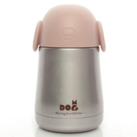 Термос розовый Собака 260 мл (код товара: 50457): купить в Berni