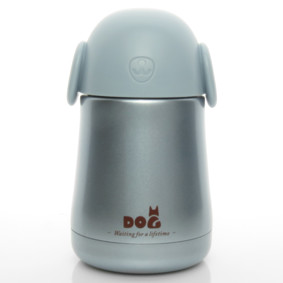 Термос синий Собака 260 мл (код товара: 50456): купить в Berni