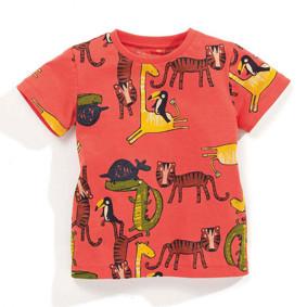 Детская футболка Африканские животные оптом (код товара: 50587): купить в Berni