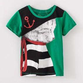 Детская футболка Кот пират (код товара: 50588): купить в Berni