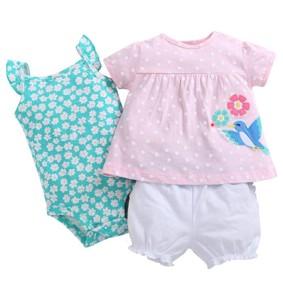 Комплект для девочки 3 в 1 Птичка (код товара: 50526): купить в Berni
