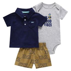Комплект для мальчика 3 в 1 Ананас оптом (код товара: 50537): купить в Berni