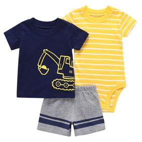 Комплект для мальчика 3 в 1 Экскаватор (код товара: 50531): купить в Berni