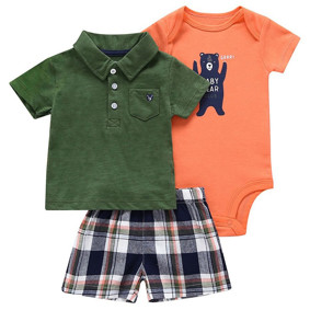 Комплект для мальчика 3 в 1 Малыш медведь (код товара: 50532): купить в Berni