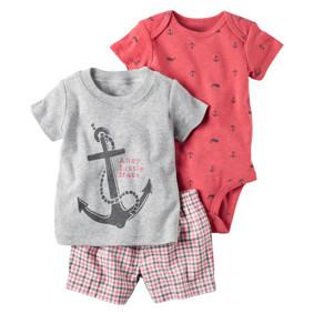 Комплект для мальчика 3 в 1 Якорь (код товара: 50543): купить в Berni