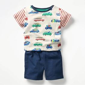 Костюм 2 в 1 для мальчика Машины (код товара: 50590): купить в Berni