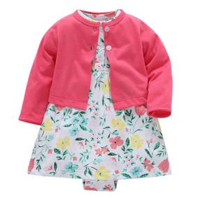 Костюм для девочки 2 в 1 Весенний сад (код товара: 50544): купить в Berni