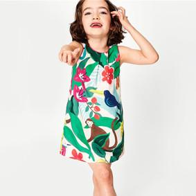 Платье для девочки Экзотика (код товара: 50567): купить в Berni