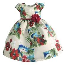 Платье для девочки Океан (код товара: 50598)