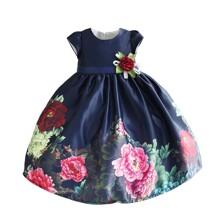 Платье для девочки Яркие пионы (код товара: 50599)
