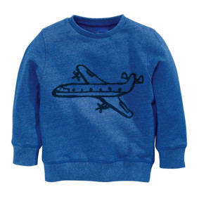 Уценка (дефекты)! Кофта для мальчика Самолет (код товара: 50515): купить в Berni