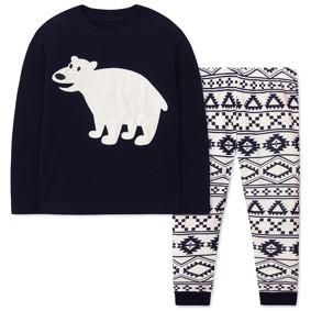 Уценка (дефекты)! Пижама Белый мишка оптом (код товара: 50505): купить в Berni