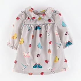 Уценка (дефекты)! Платье для девочки Жуки оптом (код товара: 50518): купить в Berni