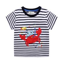 Детская футболка Краб (код товара: 50697)
