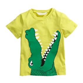 Футболка для мальчика Крокодил оптом (код товара: 50638): купить в Berni