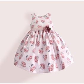 Платье для девочки Букет, розовый (код товара: 50611): купить в Berni