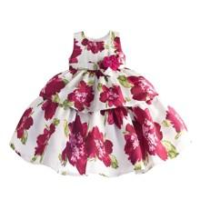 Платье для девочки Цветок (код товара: 50617)