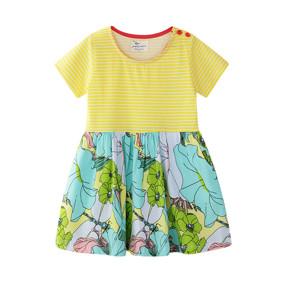 Платье для девочки Цветы (код товара: 50684): купить в Berni