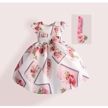 Платье для девочки Нежная роза (код товара: 50616)