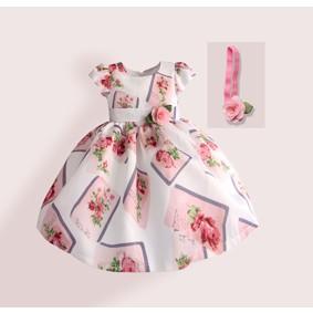 Платье для девочки Нежная роза (код товара: 50616): купить в Berni