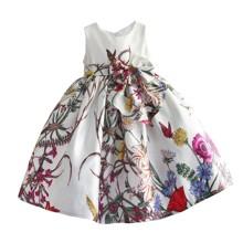 Платье для девочки Полевые цветы, белый (код товара: 50601)