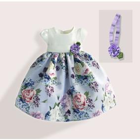 Платье для девочки Сиреневый сад (код товара: 50606): купить в Berni